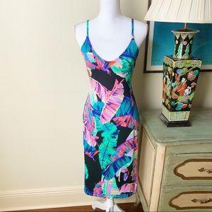 VENUS • Strappy Back Detail Bodycon Dress NWOT